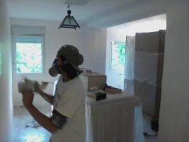 Pintores Alpedrete, quitar gotele y alisar paredes y techos de viviendas