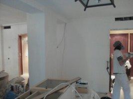 Pintores los negrales - quitar gotele y alisar paredes y techos